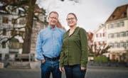Der «Nordklang»-Initiant und Vereinspräsident Felix van den Berg und die neue Festival-Managerin Larissa Bissegger. (Bild: Benjamin Manser)