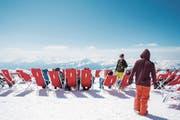 Viel Schnee allein reicht für eine erfolgreiche Wintersaison nicht aus: Es braucht auch gutes Wetter wie hier auf dem Chäserrugg. (Bild: Urs Bucher)