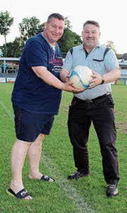 Kened und Nikoll Ukgjini sind die Väter des FC Besa St. Gallen.