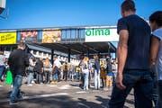 Die Eigenmesse Olma lieferte ausgezeichnete Zahlen. (Bild: Urs Bucher/Archiv)