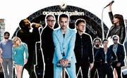 Depeche Mode, Nine Inch Nails, The Killers, Chvurches: grosse Namen und vielversprechende Newcomer am St. Galler Open Air 2018. (Bild: Collage: Elena Freydl)