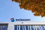 Swisscom-Geschäftskunden hatten diese Woche mit einer Störung zu kämpfen. (Bild: GAETAN BALLY (KEYSTONE))