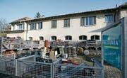 Calzavara-Hauptsitz in St.Gallen: Über Jahre hinweg zweigte der Buchhalter kleinere Geldbeträge auf eigene Konten ab. (Bild: Hannes Thalmann (St. Gallen, 8. Dezember 2008))