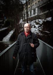 Die Mülenenschlucht bezeichnet Théo Buff als «Kraftort». (Bild: Benjamin Manser)
