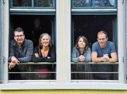 Christoph Oertly, Präsidentin Franziska Lenzin, Eva Hotz und Jens Havenstein gehören zum Vorstand der Elternschule Bischofszell. (Bild: PD)