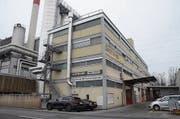 In diesem Gebäude bei der Buchser KVA trafen sich die Staatsverweigerer. (Bild: Hanspeter Thurnherr)