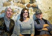 Edwin Koch, Glenda Satiro und Rino Cavallet. (Bilder: Chris Marty)