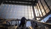 Der Glaskubus über dem Treffpunkt hat Formen angenommen. (Bild: Michel Canonica)