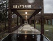 Mit dem Bezug des neuen Krematoriums wurden Räume im Friedhof Feldli frei. (Bild: Benjamin Manser)