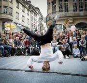 Ein Highlight am «Jungkult»: das Breakdance-Battle. (Bild: Ralph Ribi)