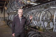 Andreas Frank steht der Projekt-Werkstatt künftig nicht mehr als Inhaber vor, sondern als Präsident des Vereins. (Bild: Urs Bucher)