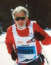 Roland Thommen beim Engadiner 2014. (Bild: pd)