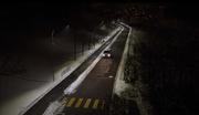 ...und schon gehen die Lichter an. Sobald das Auto durchgefahren ist... (Bild: Comlight)