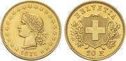 "Goldmünze ""Durussel-Probe"": erste Goldmünze der Eidgenossenschaft: Verkaufspreis 46'360 Franken. (Bild: pd)"