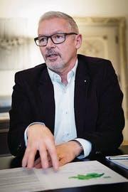 Regierungsrat Martin Klöti. (Bild: Ralph Ribi/Archiv)