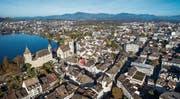 Kanton und Stadt gehen davon aus, dass das Volk über den Tunnel in Rapperswil-Jona entscheiden wird. (Bild: Ralph Ribi)