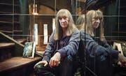 Sein Treppenhaus war ein Spiegelkabinett: Charles Frey alias Akron in seinem «Hexenschlösschen» in St. Gallen. (Bild: Urs Jaudas (St. Gallen, 7. Oktober 2013))