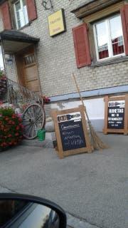 Das Restaurant blieb am Samstag geschlossen.