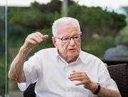 SFS-Gründer Hans Huber geht mit 90 Jahren in den Ruhestand. (Bild: Benjamin Manser)