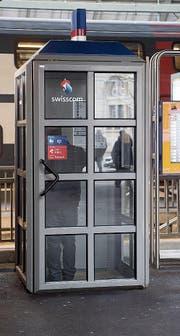 Die Meistbenutzte: Bei der Unterführung West im Hauptbahnhof St. Gallen.