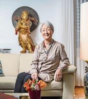 Yong-Suc Hungerbühler lebt auch nach 50 Jahren in St. Gallen noch viel koreanische Tradition. (Bild: Urs Bucher)