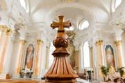 Der Katholische Konfessionsteil, die Evangelisch-reformierte Kirche, die Christkatholische Kirchgemeinde und die Jüdische Gemeinde sind im Kanton St.Gallen anerkannt. (Bild: Donato Caspari)
