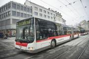 Kurzstrecken-Tickets sind ab 10.Dezember nur noch in der städtischen Zone erhältlich. (Bild: Ralph Ribi)