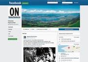 Die Facebook-Seite der «Obersee Nachrichten», um die es auch in der Klage geht. (Bild: Screenshot)