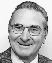 Alex Stähli (1935 – 2018) (Bild: PD)