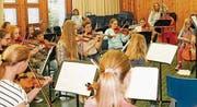 Das Ensemble Vivaldissimo bei einer Probe. (Bild: pd)