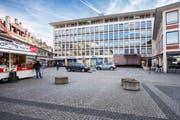 Das Geschäftshaus Union wird als Standort für die neue Grossbibliothek von Kanton und Stadt geprüft. (Bild: Urs Bucher)