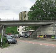 Die Brücke an der Oberstrasse wird bald ersetzt. (Bild: Luca Ghiselli)