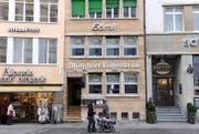 Das Restaurant Hörnli von der Neugasse her gesehen. (Bild: Coralie Wenger)