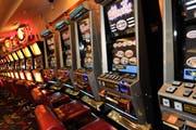 Ein Appenzeller gewann im Casino St.Gallen am Glücksspielautomaten zwei Millionen Franken. (Bild: Ralph Ribi)