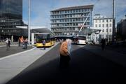 Wer innerhalb der Stadt St.Gallen zur Arbeit fährt, nimmt in den meisten Fällen den öV. (Bild: Benjamin Manser)