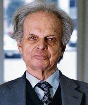 H. Christoph Binswanger (1929–2018. (Bild: Martin Ruetschi/Keystone)