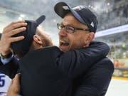 Trainer Hans Kossmann gelang bei den ZSC Lions in vier Monaten eine Totalüberholung, die im Meistertitel gipfelte. (Bild: KEYSTONE/TI-PRESS/DAVIDE AGOSTA)