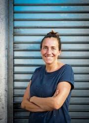 Katja Langenbach nimmt sich des Flüchtlingsthemas aus historischer Sicht an. (Bild: Benjamin Manser)