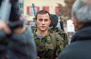 Die Geschichte von Mischa Ebner wird auch im Kinofilm «Der Läufer» erzählt. Max Hubacher (im Bild) spielt die Hauptrolle. (Bild: Andrea Stalder)