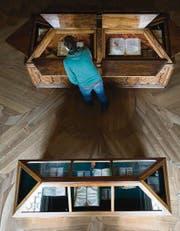 Die Bestände der Stiftsbibliothek bergen auch frühes medizinisches Wissen. (Bilder: Benjamin Manser)