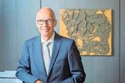 Der St.Galler Stadtpräsident Thomas Scheitlin (FDP). (Bild: Urs Bucher)