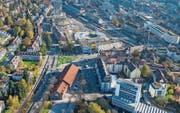 Das Dreieckpärkli in der Gabelung der St.-Leonhard-Strasse ist nach Meinung der Planer verschenkter Platz. (Bild: Urs Bucher)