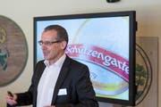 Schützengarten-Chef Reto Preisig will bei seinen Bieren den Anteil der Rohstoffe mit Schweizer Herkunft weiter steigern. (Bild: Peer Füglistaller/Archiv)