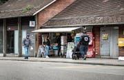 Zukunft noch offen: Der Kiosk an der Bergstation Mühlegg schliesst am Samstag, eine Nachfolgelösung wird gesucht. (Bild: Sabrina Stübi)