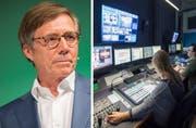 Kurt Weigelts IHK empfiehlt ein Ja zu No-Billag - kommt es so heraus, stünde TVO vor dem Aus. (Bild: Urs Bucher/Ralph Ribi)