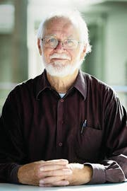 Jacques Dubochet, Biophysiker, Nobelpreisträger, Kanti Trogen 1958–1960. (Bild: KEYSTONE)