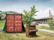 Die Lattich-Container haben neues Leben auf das Güterbahnhofareal gebracht. (Bild: Hanspeter Schiess (31. Mai 2017))