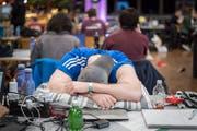 Auch Programmierer brauchen mal eine Pause. (Bild: Michel Canonica)