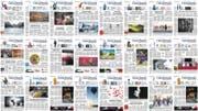 Eine Auswahl der über 200 Titelseiten der «Ostschweiz am Sonntag» (Bild: Tagblatt)