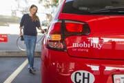 Mobility ist eine der bekanntesten Marken, wenn es ums Teilen geht. (Bild: KEYSTONE)